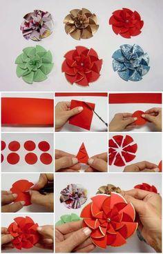 how-to-make-easy-modular-paper-flower