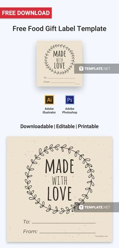 free food label pinterest label templates free label templates