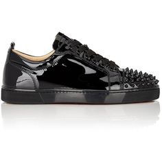 e5b797df21b1 Christian Louboutin Men s Louis Junior Sneakers ( 895) ❤ liked on Polyvore  featuring men s fashion