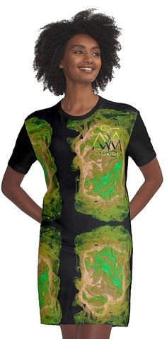 The Green Secret von Majestic-world, T-Shirtkleid ` Golfresort `
