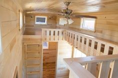 This is the Contemporary Elegance Tiny House on Wheels that's the latest from Tiny Treasure Homes in Arizona. It's great for a family (or someone with frequent guests) that has not only…