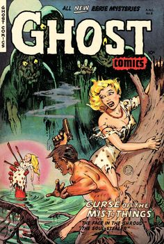 Comic Book Cover For Ghost Comics #8