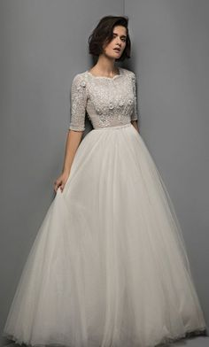 Featured Dress: Chana Marelus; Wedding dress idea.