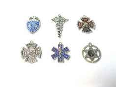 Public Official and Medical Crystal Charms. Contact us at alice@atgtexas.com for details or to order!