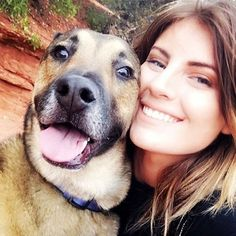 """""""My dogs mean everything to me. I have two dogs Jasper and Rocko. Rocko is a total goofball and makes me laugh all of the time. I love going hiking with this guy and going on adventures. My dogs are my kids and my best friends. So glad to have them in my life. Love you Rocko!!"""" -Paige Drysdale, Puppy Mama in Tempe, AZ  @paige.nicolle ❤️❤️❤️❤️❤️❤️❤️❤️❤️❤️❤️❤️❤️ puppymama.com Join the BRING YOUR BEST FRIEND WHEREVER YOU GO movement by signing up on puppymama.com and using #BYBF…"""