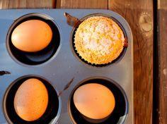 Magdalenas caseras con huevos de corral y AOVE