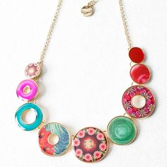 Desigual necklace Tropic Garden, Canada