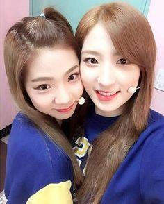 WJSN - Yeoreum 여름 & Eunseo 은서 selca #셀카 #우주소녀