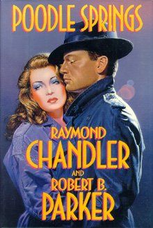 poodle springs, raymond chandler and robert b parker Crime Fiction, Pulp Fiction, Fiction Novels, Agatha Christie, Classic Films, Classic Books, Detective, Raymond Chandler, Spring Books