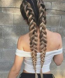 Updo Hairstyle Riding the braid wave? With these step-by-step instructions, you'll nail down 15 gorgeous braid styles in no time - Riding the braid wave? With these step-by-step instructions, you'll nail down 15 gorgeous braid styles in no time Daily Hairstyles, Box Braids Hairstyles, Cool Hairstyles, Hairstyle Ideas, Hairstyles 2018, Hair Updo, Summer Hairstyles, Hairstyle Braid, Perfect Hairstyle