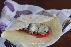Torta de sardinas y tomates
