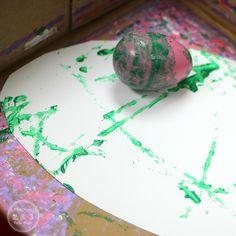 Fun Toddler Easter Art with Plastic Eggs Easter Art, Easter Crafts, Easter Eggs, Easter Activities For Preschool, Spring Activities, Time Planner, Spring Painting, Toddler Art, Egg Art