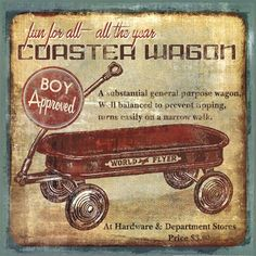 Coaster Wagon