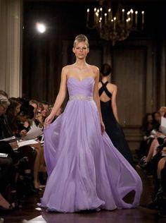 Bridesmaid dresses.. different color @Stephanie Robson-Zana Hughes