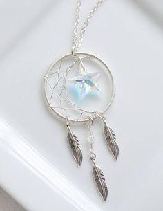 Crescent Moon Necklace with Star, Celestial Necklace, Crescent Moon Pendant, Space Lover Gift, Moon Stylish Jewelry, Cute Jewelry, Jewelry Accessories, Fashion Jewelry, Geek Jewelry, Magical Jewelry, Accesorios Casual, Diy Schmuck, Fantasy Jewelry