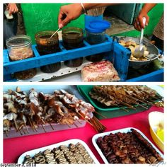 #fishball #squidball #bbq #street #food #philippines