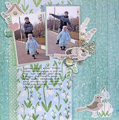 FLEUR design Blog: Весенняя страничка. Вдохновение от Оксаны Богачевой.