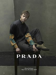 Dane DeHaan for Prada Menswear Spring Summer 2014 by Annie Leibovitz