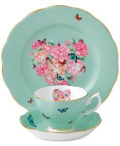 Miranda Kerr for Royal Albert Blessings 3-Pc. Set - Fine China - Macy's