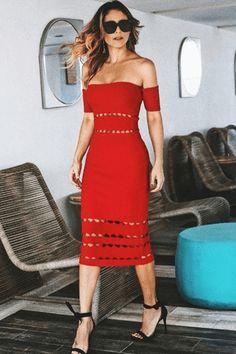 Karis Bandage Dress  - AMEKANA.COM