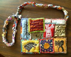Game of Thrones patchwork bag - I don't like this bag at all but it gives me an idea. :)