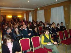 Il pubblico durante lo svolgimento della tavola rotonda - V° GPAV @ Hotel Amadeus di Venezia.