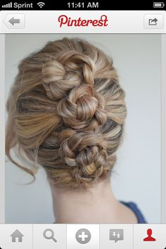 Braided tier buns