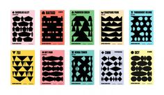 Beijing Design Week identity by Lava