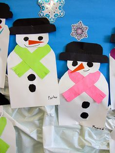 You can never have too many snowmen!