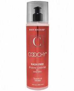 Coochy Rashfree Shave Cream - Tropical Tease from Classic Erotica. A tantalizing allure of island breeze, sweet coconut & satsuma oranges sp... www.romanticsecrets.ca