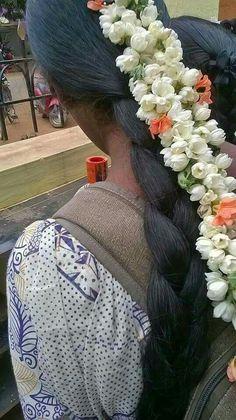 Indian Long Hair Braid, Braids For Black Hair, Indian Bridal Hairstyles, Braided Hairstyles, Forced Haircut, Long Hair Video, Braids For Long Hair, Beautiful Long Hair, Hair Videos