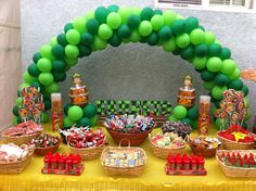 Chavo del Ocho Party ~ Decorations ~ Dessert Table Set Up
