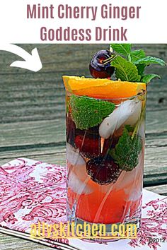 I call it the 'Goddess' drink because when you sip, you feel like your tasting the nectars of the gods of the fruit and herb universe. #easydrink #drinkrecipe Healthy Meals For Kids, Good Healthy Recipes, Quick Easy Meals, Kids Meals, Easy Recipes, Healthy Snacks, Lemon Ice Cubes, My Favorite Food, Favorite Recipes