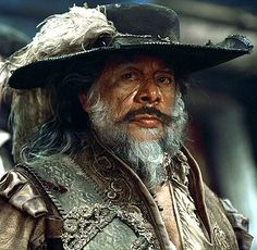 *CAPTAIN VALLENU ~ Pirates of the Caribbean... this is what my dad looks like as a pirate when he has his beard