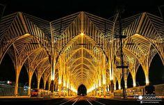 Photo du jour • Architecture Gare de l'Orient, Lisbonne ©Paulo Luís Photography
