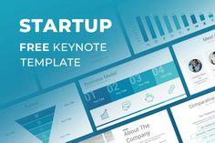 Startup Free Professional Keynote Template Keynote Template, Templates, Free, Stencils, Vorlage, Models