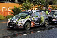 Ken Block at WRC NZ