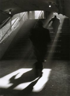 Sabine Weiss Métro, 1955. From Paris Mon Amour Thanks to liquidnight