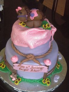 Cowgirl By margery on CakeCentral.com