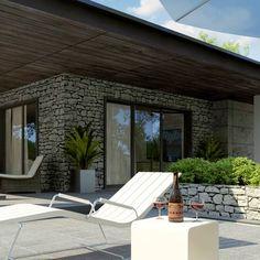 Z279 to wyjątkowy dom z kategorii projekty domów z garażem jednostanowiskowym Beautiful House Plans, Beautiful Homes, House Front Design, Outdoor Furniture, Outdoor Decor, Sun Lounger, Exterior, Home Decor, Ideas