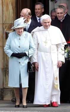 The Queen and the Pope