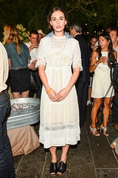WHO: Sophie Auster WHERE: Summer Party on the High Line Presented by Coach WHEN: June 23, 2015