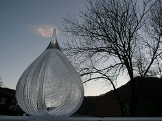 Joia de gel Land Art, Ice, Celestial, Creative, Snow, Outdoor, Sculpture, Outdoors, Ice Cream