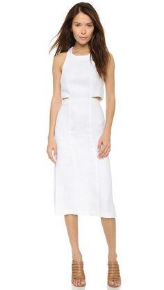 Whistles Mendes Cutout Dress