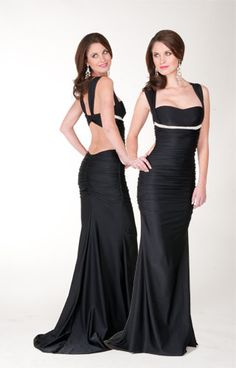 Love this is black, but Red would be Hot! or in White with a tan!  Atria AC1123 $290 #prom #fashion #couture #sexy #dresses