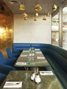 Tom Dixon completes Éclectic restaurant in Paris #architecture #interiordesign #restaurant