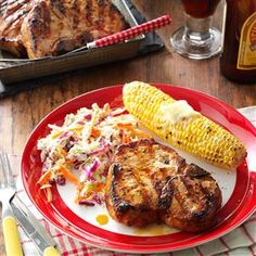 Marinated Pork Chops Recipe -I make these tasty loin chops all the time and my family never tires of them. The secret to the tender pork is overnight marinating. —Jean Neitzel, Beloit, Wisconsin