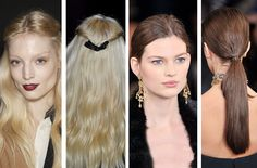 Happy Holiday Hair: How To Get Two Party-Ready Styles, Straight from the Runway