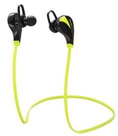 Evizian® Bluetooth 4.0 Wireless Stereo Sweatproof Jogger, Running, Sport Headphones