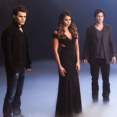 New behind the scenes picture of the trio for the promo shoot #Padgram